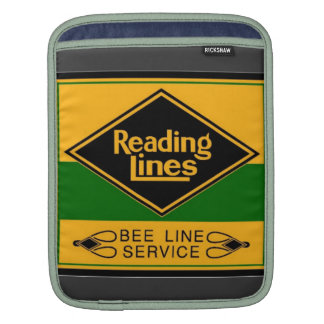 Reading Railroad, Bee Line Service Sleeve For iPads