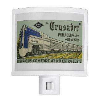 Reading Railroad Crusader 1937 Night Light