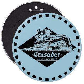 Reading Railroad Crusader Streamliner Button