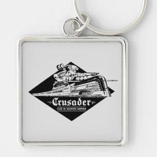 Reading Railroad Crusader Streamliner Keychain