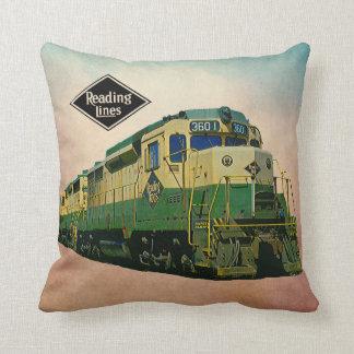 Reading Railroad GP-30 #3601 Throw Pillow