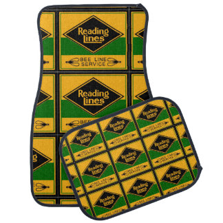 Reading Railroad Lines, Bee Line Service Car Mats