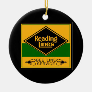 Reading Railroad Lines, Bee Line Service Ornaments