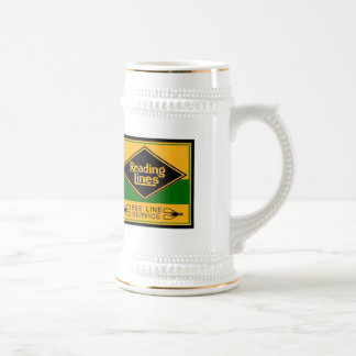 Reading Railroad Lines, Bee Line Service Stein Coffee Mugs