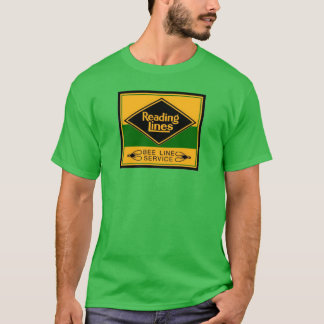 Reading Railroad Lines, Bee Line Service T-Shirts