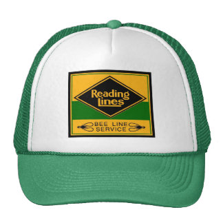 Reading Railroad Lines, Bee Line Service Trucker Hat