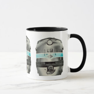 Reading Railroad Lines Diesel # 907 Mug