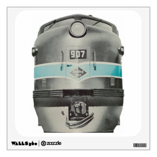 Reading Railroad Lines Diesel # 907 Wall Decal