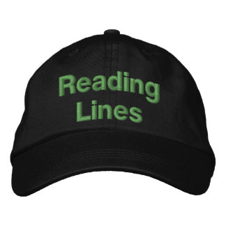 Reading Railroad Lines Embroidered Baseball Cap