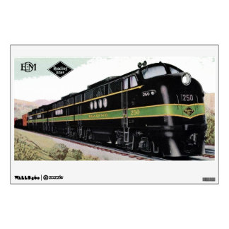 Reading Railroad Lines FT 250 Wall Decal