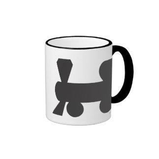 Reading Railroad Ringer Coffee Mug