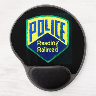 Reading Railroad Police Patch Gel Mousepad