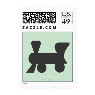 Reading Railroad Postage Stamp