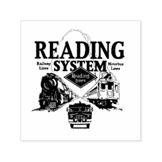 Reading Railroad System 1942 self inking stamp