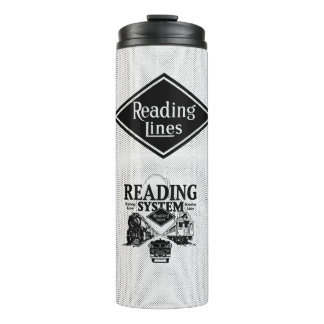 Reading Railroad System 1942 Thermal Tumbler