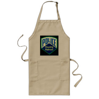 Reading Railroad Train Police Patch Long Apron