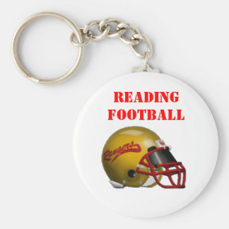 Reading Ranger Football Keychain