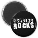 Reading Rocks 2 Inch Round Magnet