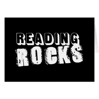 Reading Rocks Card