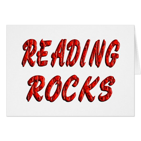 Reading ROCKS Card