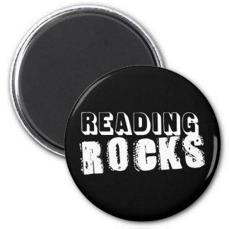 Reading Rocks Fridge Magnet