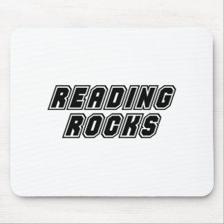 Reading Rocks Mouse Pad
