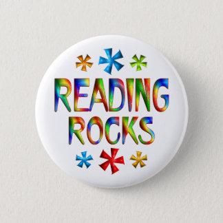 READING ROCKS PINBACK BUTTON