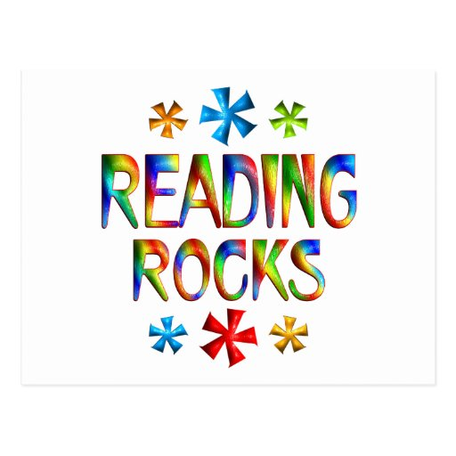 READING ROCKS POST CARDS