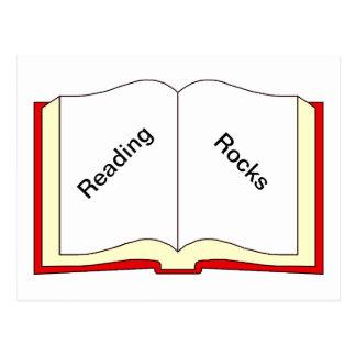 Reading Rocks Post Card