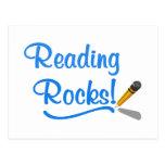 Reading Rocks! Postcard