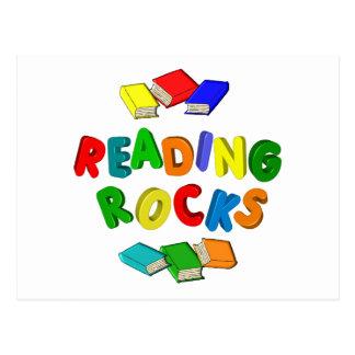 READING ROCKS POSTCARD