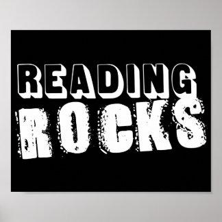 Reading Rocks Poster