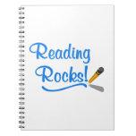 Reading Rocks! Spiral Notebooks