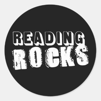 Reading Rocks Sticker