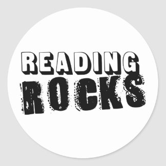 Reading Rocks Stickers
