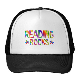 Reading Rocks Trucker Hat