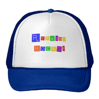 Reading Rocks TShirts and Gifts Trucker Hat