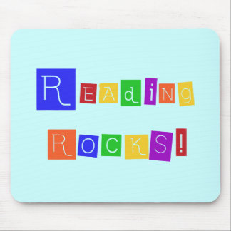 Reading Rocks Tshirts and Gifts Mousepads