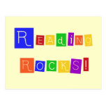 Reading Rocks Tshirts and Gifts Postcard