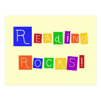 Reading Rocks Tshirts and Gifts Postcard