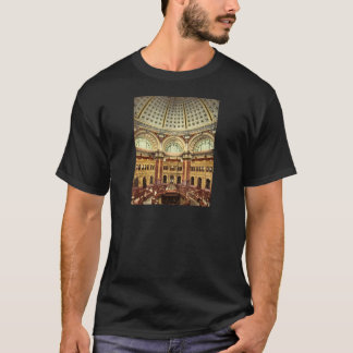 Reading room Library of Congress Washington T-Shirt