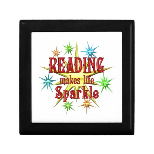 Reading Sparkles Jewelry Boxes