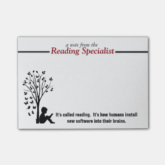 Reading Specialist's Post-it Notes Post-it® Notes