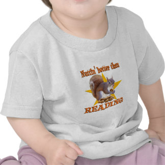 Reading Squirrel Shirts