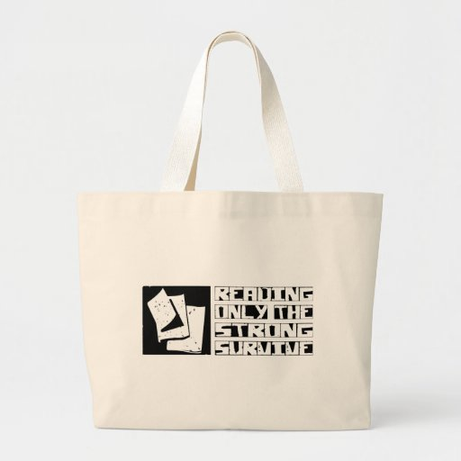 Reading Survive Tote Bags