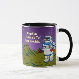 Reading Takes Us To New Worlds Mug