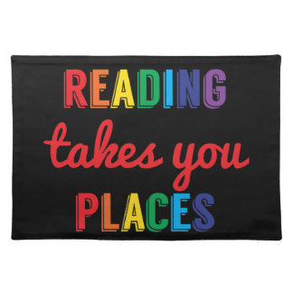 Reading Takes You Places, Love Reading Placemat