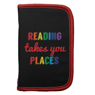 Reading Takes You Places, Love Reading Folio Planners
