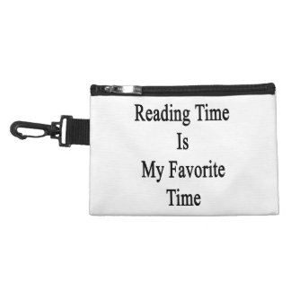 Reading Time Is My Favorite Time Accessory Bags