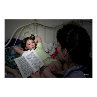 Reading to Abby Poster